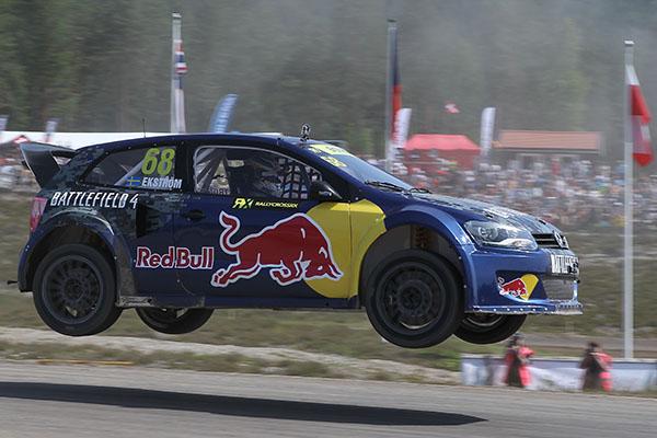 2013 FIA European Rallycross Championship, Sweden: Mattias Ekström