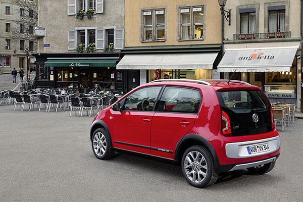 2013 Volkswagen CrossUp