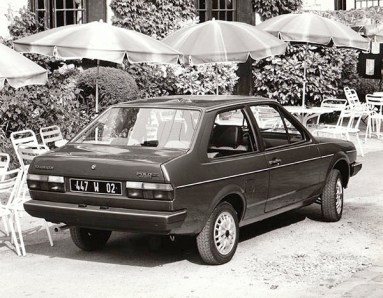 1983 Volkswagen Polo Classic GL (France)
