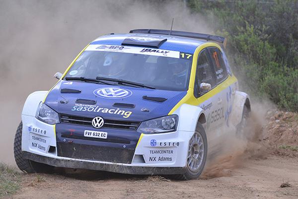 2013 Volkswagen Rally: Lategan/White