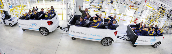 Volkswagen South Africa Factory Tour 'Polo-Train'