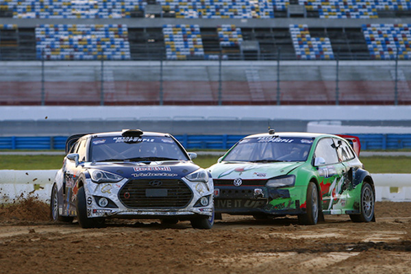 2014 Red Bull Global Rallycross Championship, Daytona: Speed