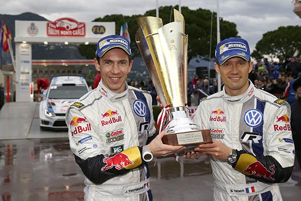 2014 Volkswagen Polo R WRC, Rallye Monte Carlo: Ogier/Ingrassia