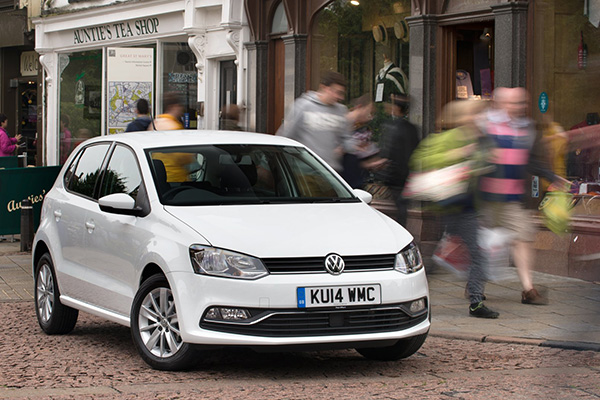 2014 Volkswagen Polo (UK)