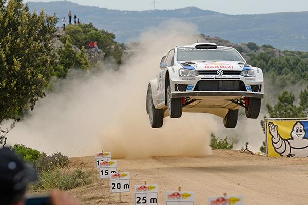 2014 Volkswagen Polo R WRC, Rally Italy: Ogier/Ingrassia