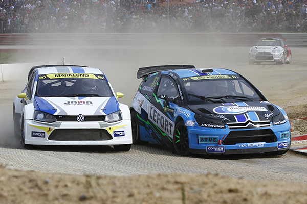2014 Volkswagen Polo RX, World Rallycross of France: Marklund