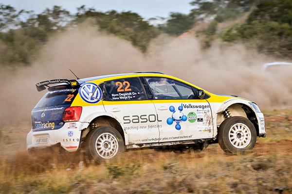 2014 Volkswagen Rally: Weijs Jnr/Degandt