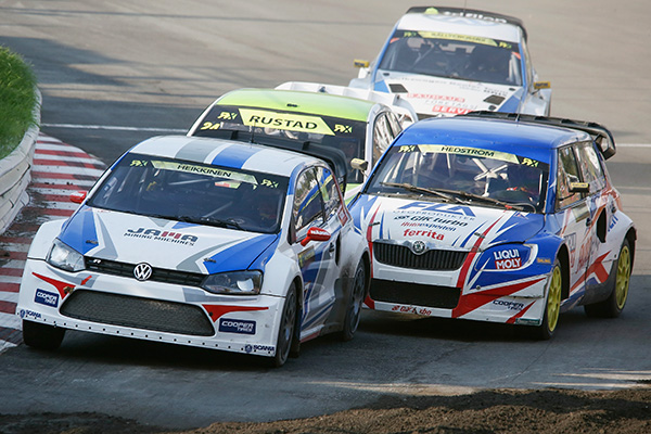 2014 Volkswagen Polo RX, World RX of Germany: Heikkinen