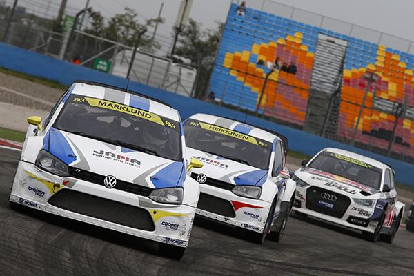 2014 Volkswagen Polo RX, World RX of Turkey: Marklund and Heikkinen