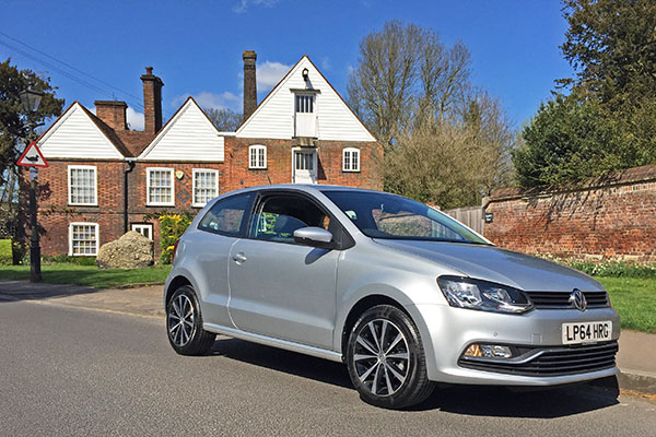Tom's Polo SE 1.2 TSI has been put to use on journeys between Hertfordshire and Devon