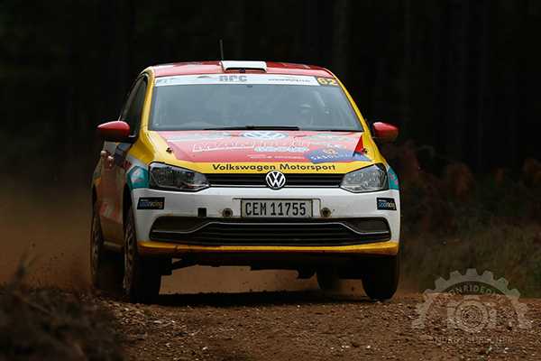 2015 Volkswagen Polo S1600, Manitou Group rally team