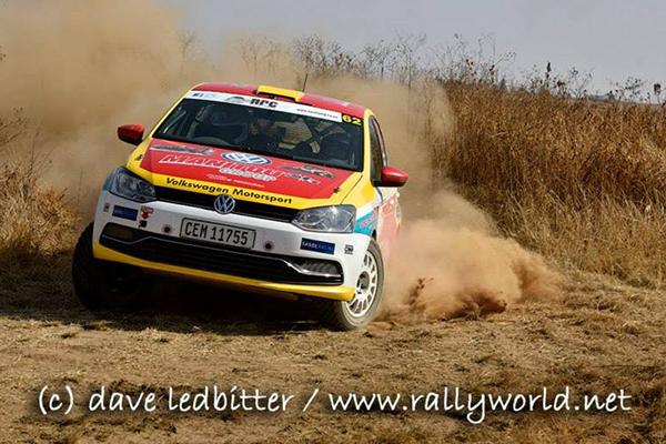 2015 Volkswagen Polo S1600,  Imperial Toyota Tshwane Motor Rally: Franken/Kohne