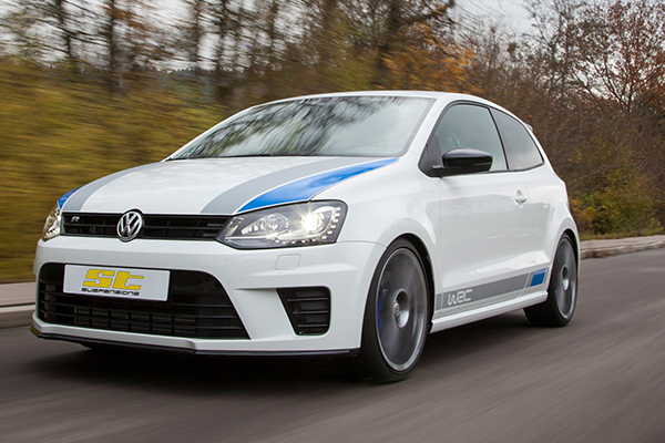 KW Automotive announce ST suspension kits for 2013 Volkswagen Polo R WRC