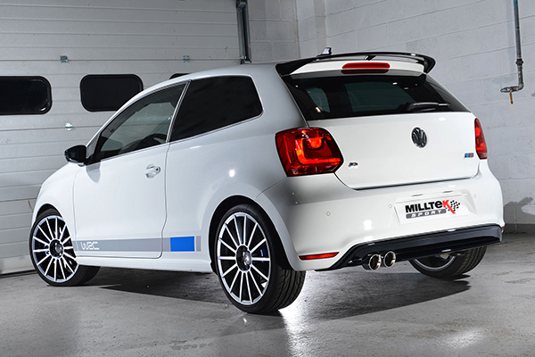 Milltek Sport Twin Exhaust System For 2013 Vw Polo R Wrc Polodriver