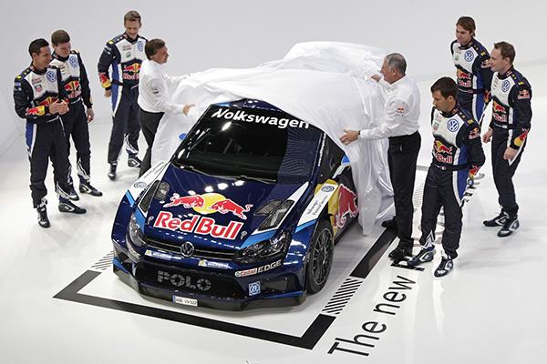 2015 Volkswagen Polo R WRC unveiled in Wolfsburg