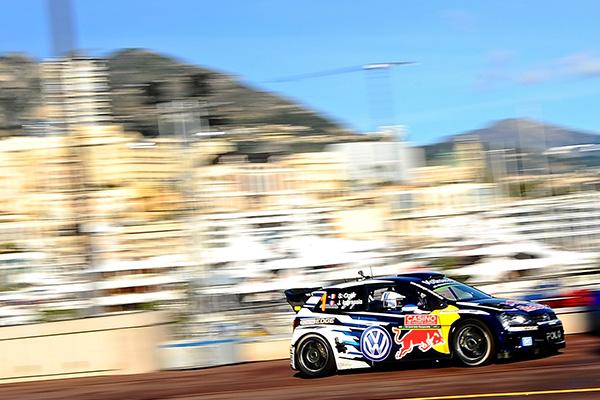 2015 Volkswagen Polo R WRC, Rally Monte Carlo: Ogier/Ingrassia