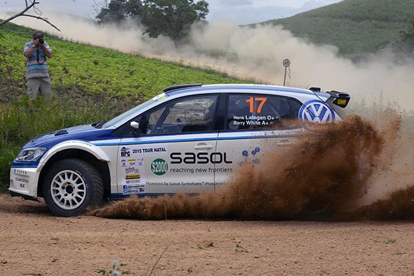 2015 Volkswagen Polo S2000, Tour Natal Rally: Lategan/White
