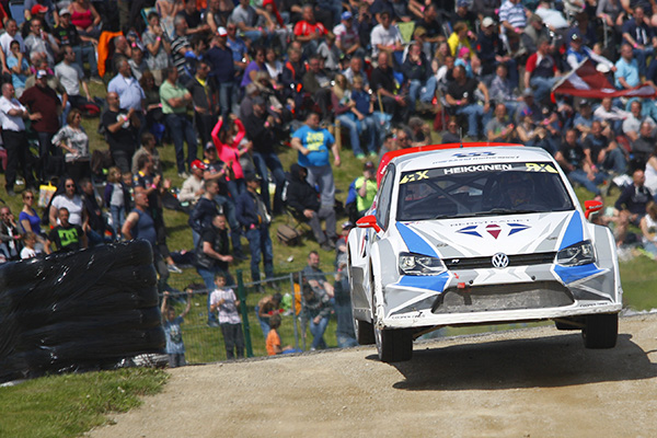 2015 World RX of Belgium: the Marklund Motorsport won with a 4:02.117-minute time