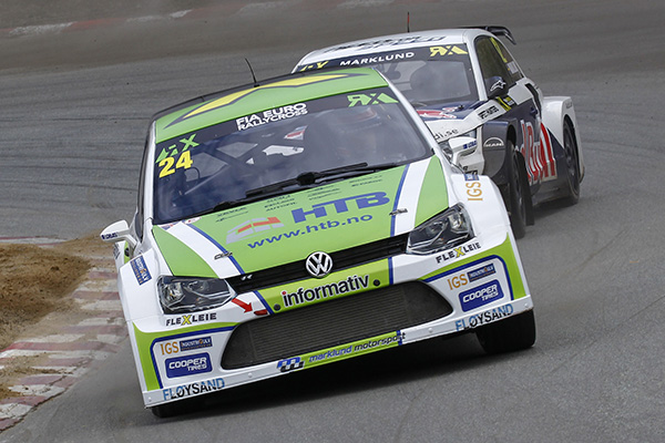2015 World RX of Germany: Tommy Rustad took first place in the Euro RX classification