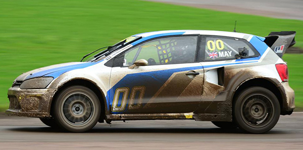 The Volkswagen Polo RX of Marklund Motorsport was recently driven by James May on BBC's Top Gear programme