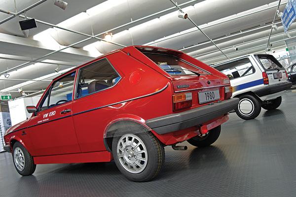 1980 Volkswagen Polo E80 and 1986 Volkswagen Öko-Polo