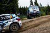 2016 Volkswagen Polo R WRC vs Kamaz 4326 on Ouninpohja