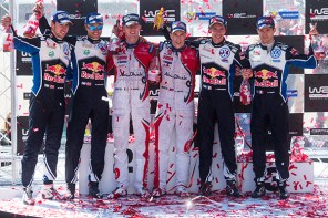 2016 Rally Portugal podium winners