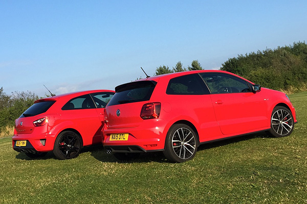 twin test seat ibiza cupra vs volkswagen polo gti. Black Bedroom Furniture Sets. Home Design Ideas