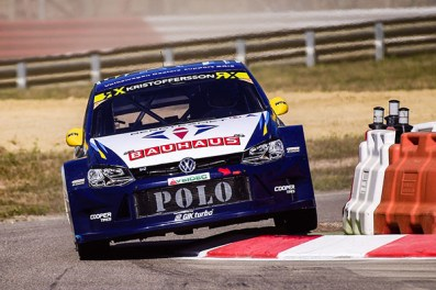 2016 Volkswagen Polo RX, World RX of France: Kristoffersson