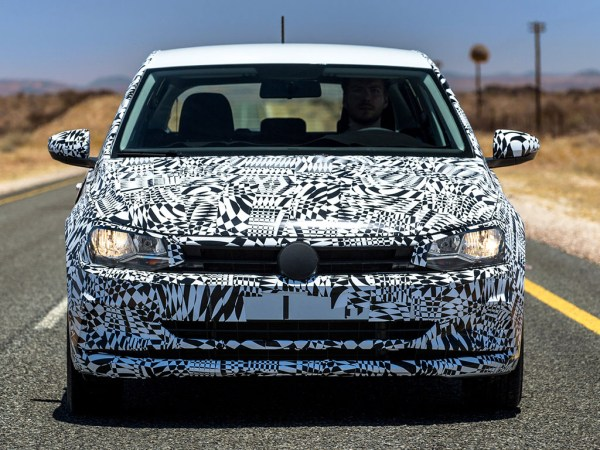2018 Volkswagen Polo prototype