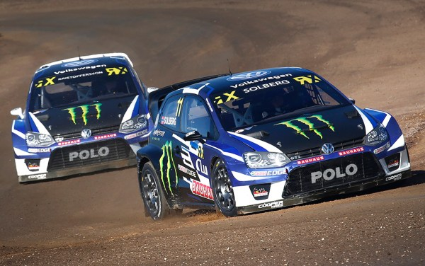 2017 PSRX Volkswagen Sweden Polo GTI Supercar, World RX of Barcelona: Kristoffersson and Solberg