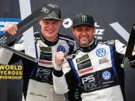 2017 PSRX Volkswagen Sweden Polo GTI Supercar, World RX of Belgium: Kristoffersson and Solberg