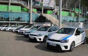 Volkswagen Polo R WRCs at GTI Coming Home 2018 event (Image: Neil Birkitt, Volkswagen Driver magazine)