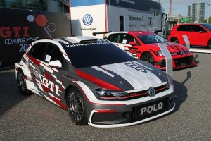 2018 Volkswagen Polo GTI R5 at GTI Coming Home 2018 event (Image: Neil Birkitt, Volkswagen Driver magazine)