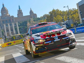 2018 Volkswagen Polo GTI R5, Rally Spain: Solberg/Engan