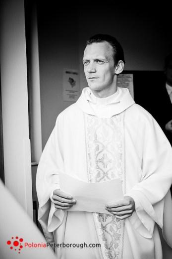 Polski ksiądz w Peterborough