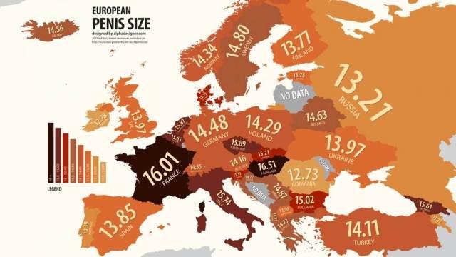 dünya penis uzunluğu