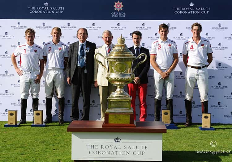 Royal Salute Coronation Cup 2015 England Wins