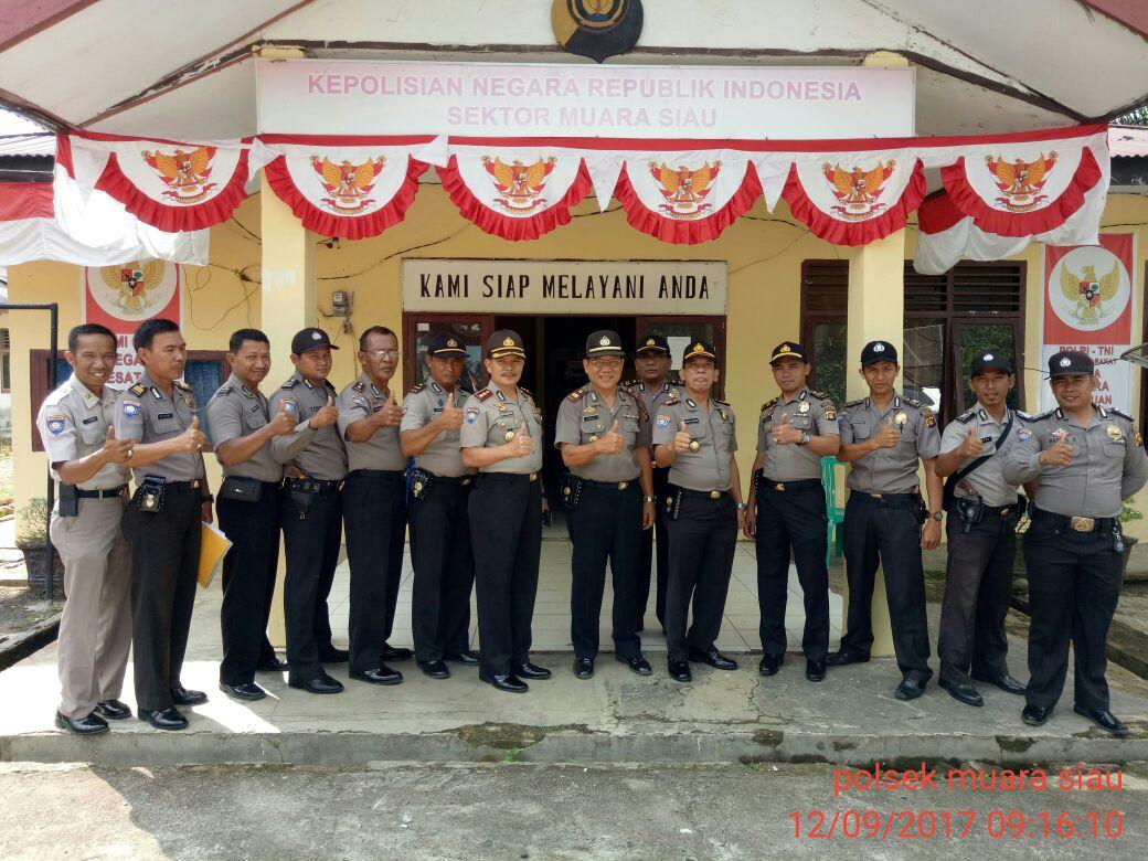 Supervisi Dit Binmas Polda Jambi Di Polsek Muara Siau