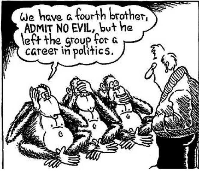 Three-Wise-Monkeys-Cartoon Richard Cassaro