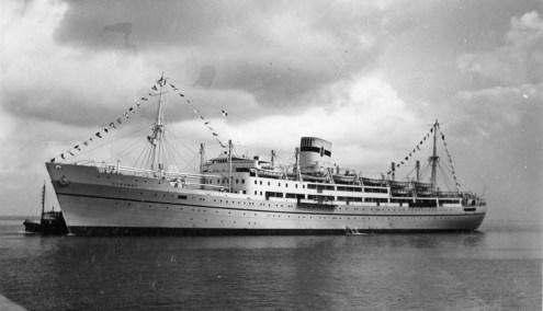 Chrobry port view 1939