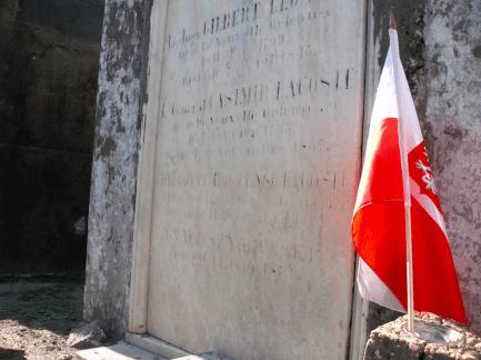 Nowy Orlean, miejsce spoczynku płk. Ignacego Szymańskiego