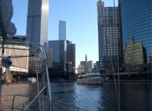 Downtown Chicago widziane z pokładu Kpt. Wagner II 4 listopad 2016