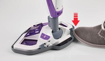 Vaporetto SV440 Double steam mop- Fast and easy to use