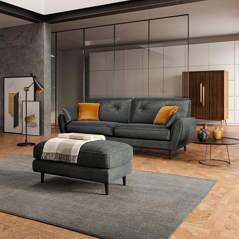 Lo stile shabby chic si realizza con una tecnica di verniciatura, chiamata decapè, che rende i mobili in legno eleganti e dall'aria vissuta. Poltronesofa In Tessuto