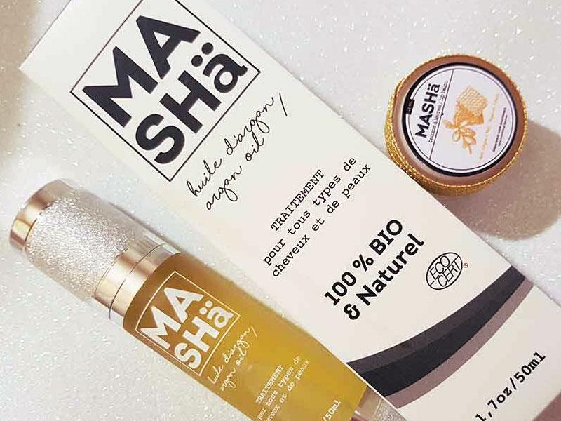 Misha Organics olio di argan