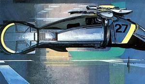 Blade Runner - Spinner drawing