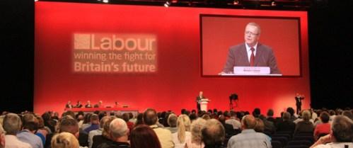 Labour Partei Online-Wahl