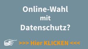 Datenschutz bei Online-Wahlen
