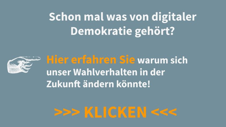 Digital Democracy und E-Voting